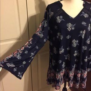 Style&Co women's 2X blouse NWT